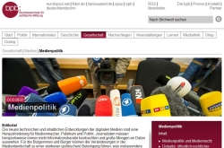 bpb Dossier Medienpolitik